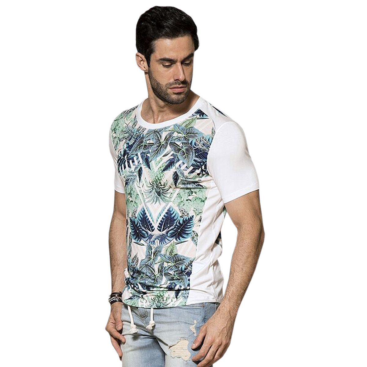 Camiseta Floral Essence Shine