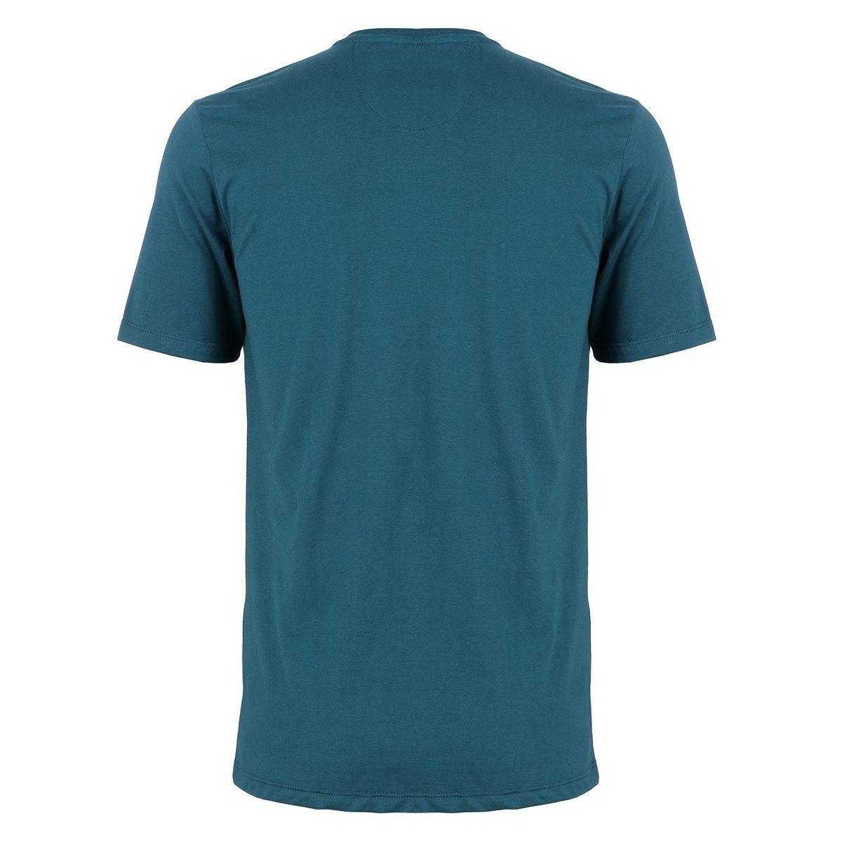 Camiseta Seeder com Recorte Azul