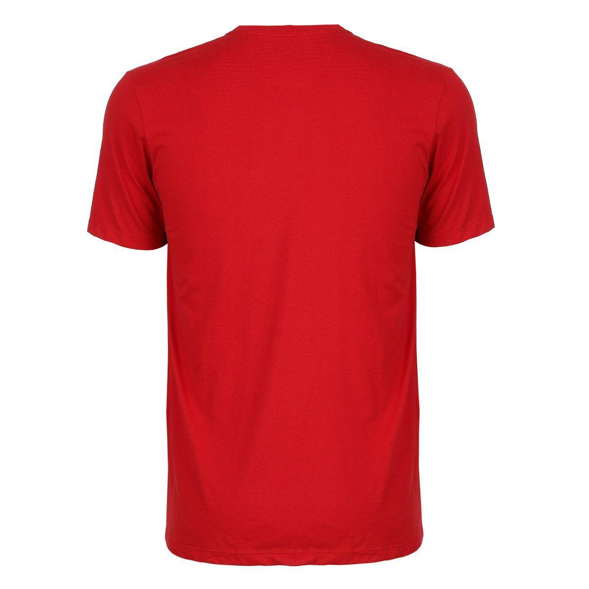 Camiseta Seeder com Recorte Vermelha