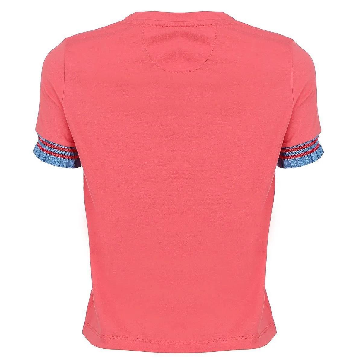 Camiseta Seeder Feminina Rosa