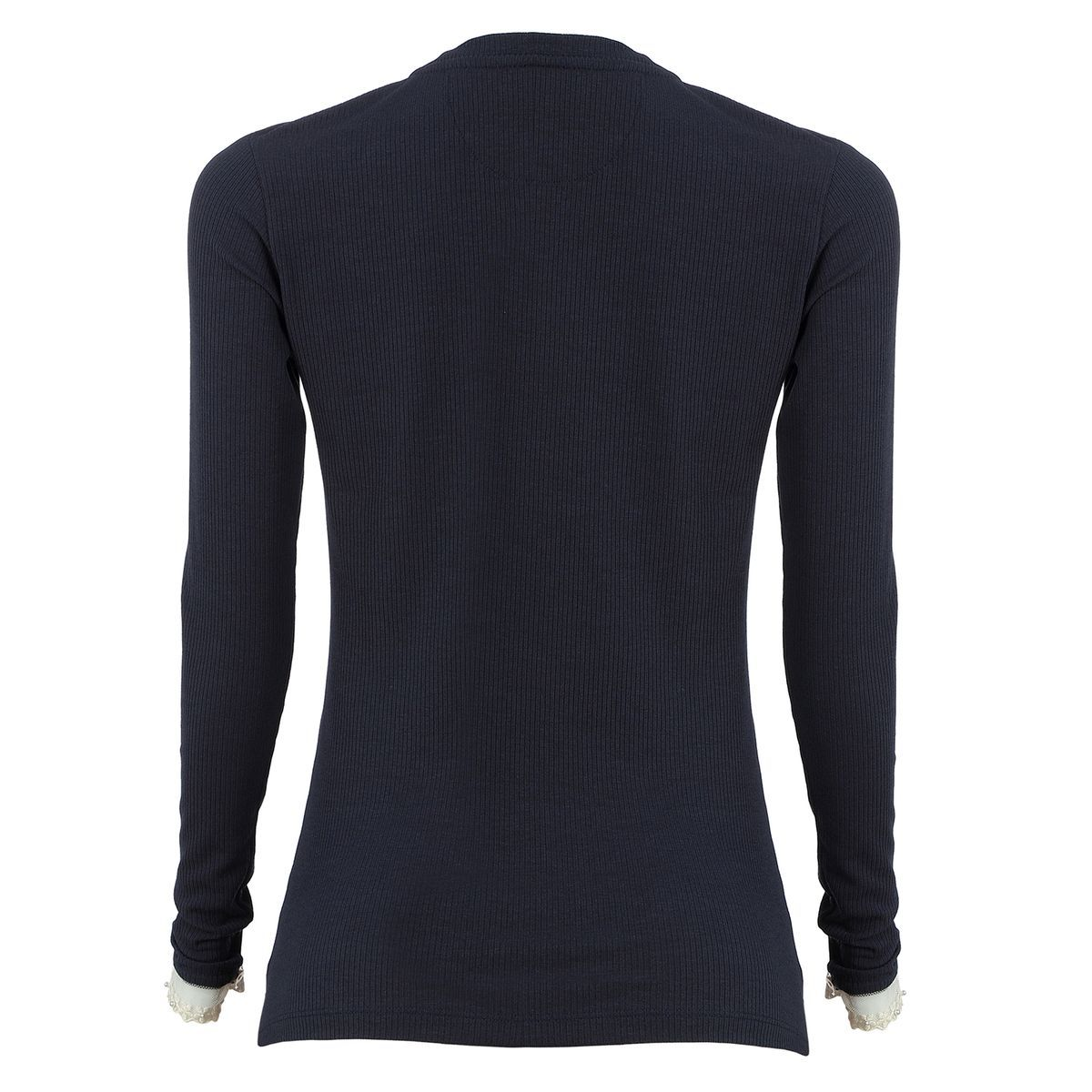 Camiseta Seeder Manga Longa Feminina Azul
