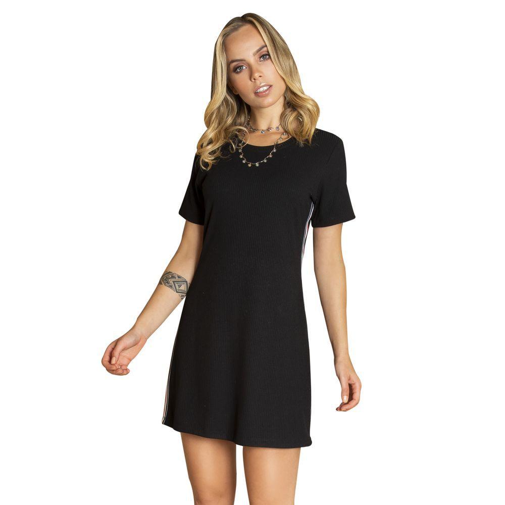 Dress - T-shirt faixa lateral