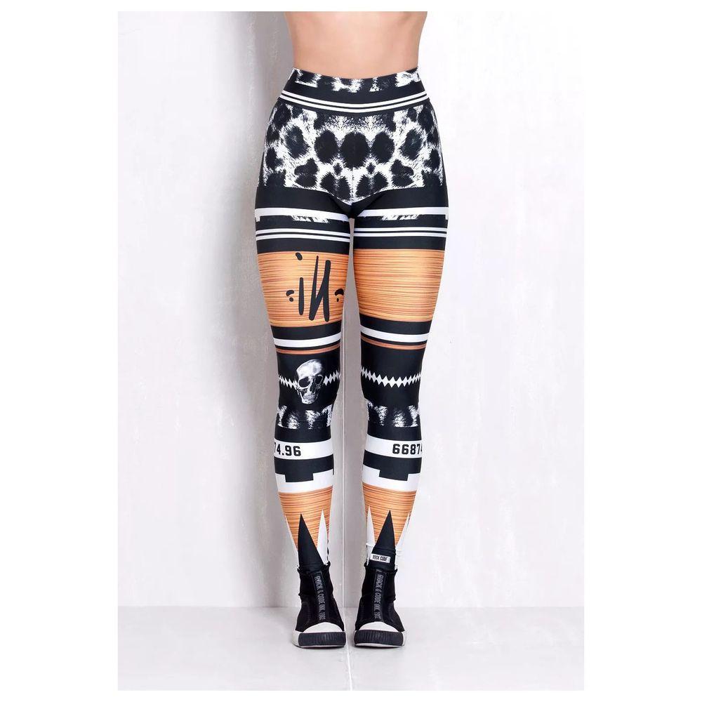 Legging Elastic Aztec Print