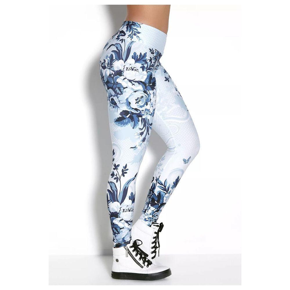 Legging Elastic Winter Roses