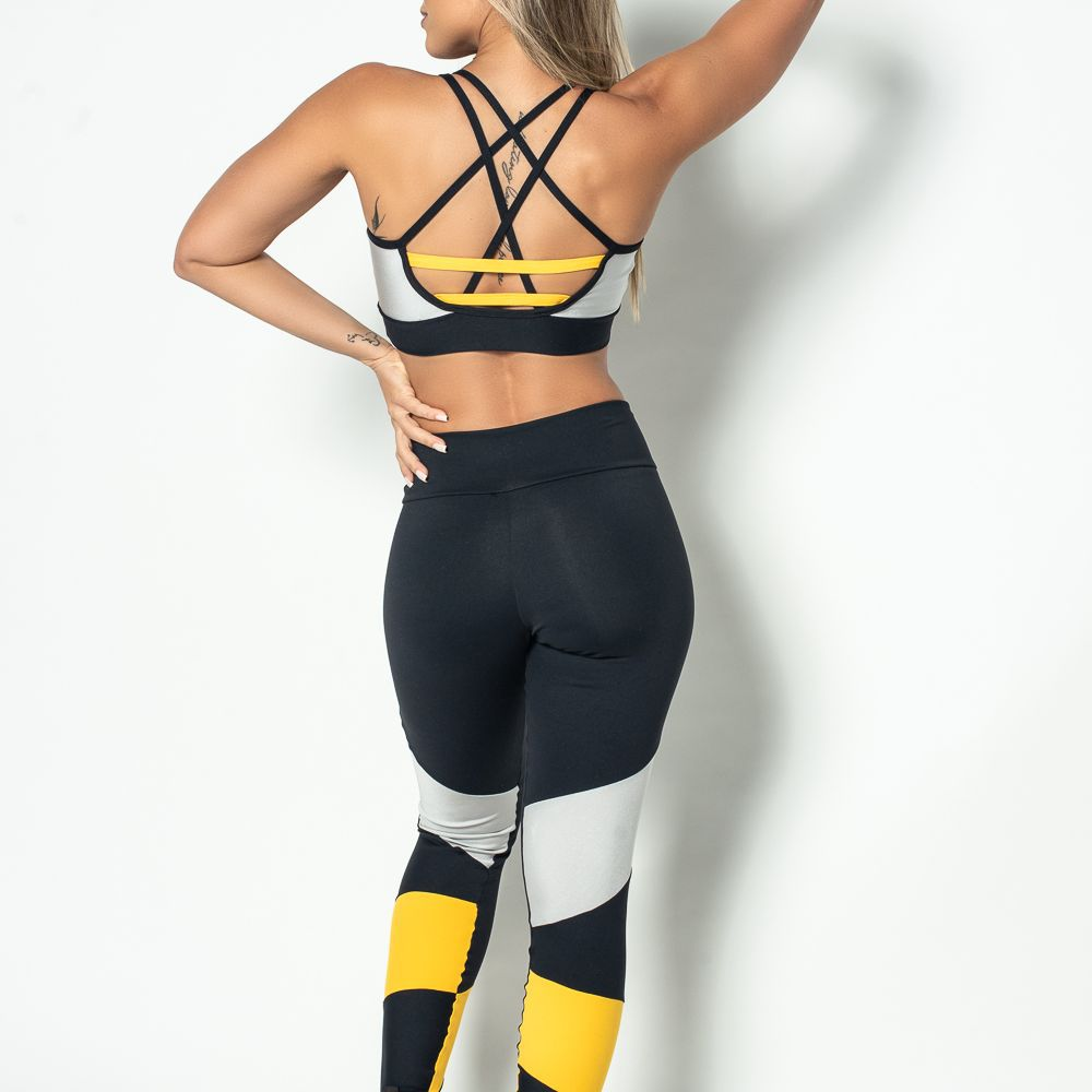 Legging fitness Poliamida Colors