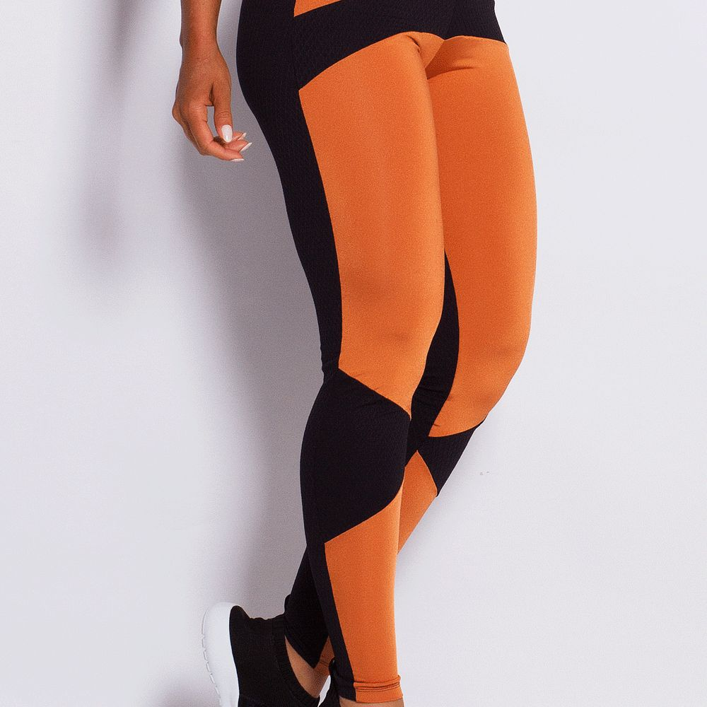 Legging Texture Copper