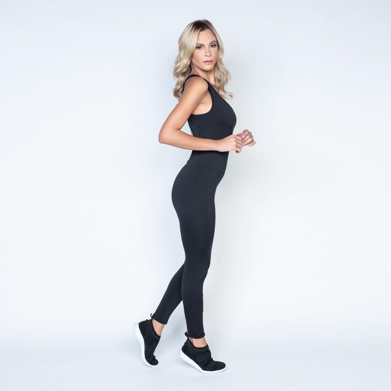 Macacão Fitness Full Black