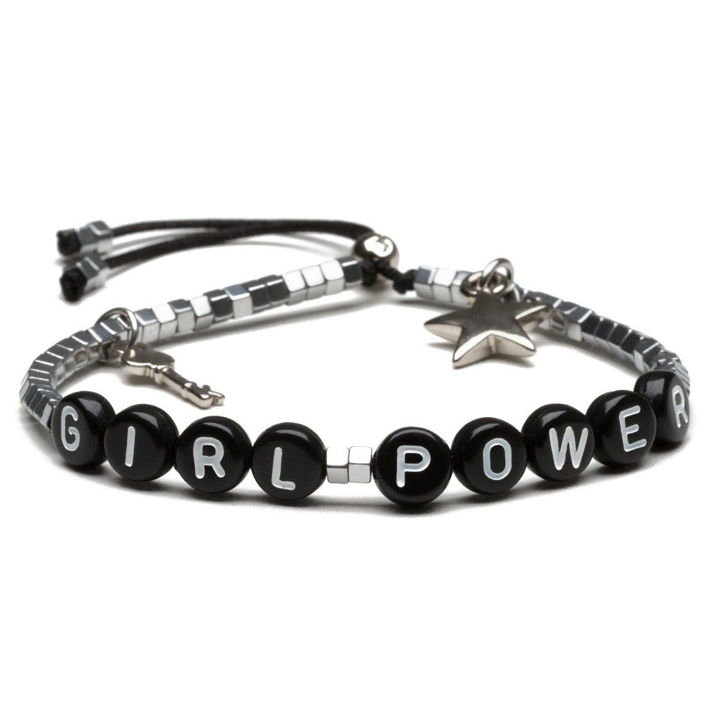 Pulseira Words Silver Girl