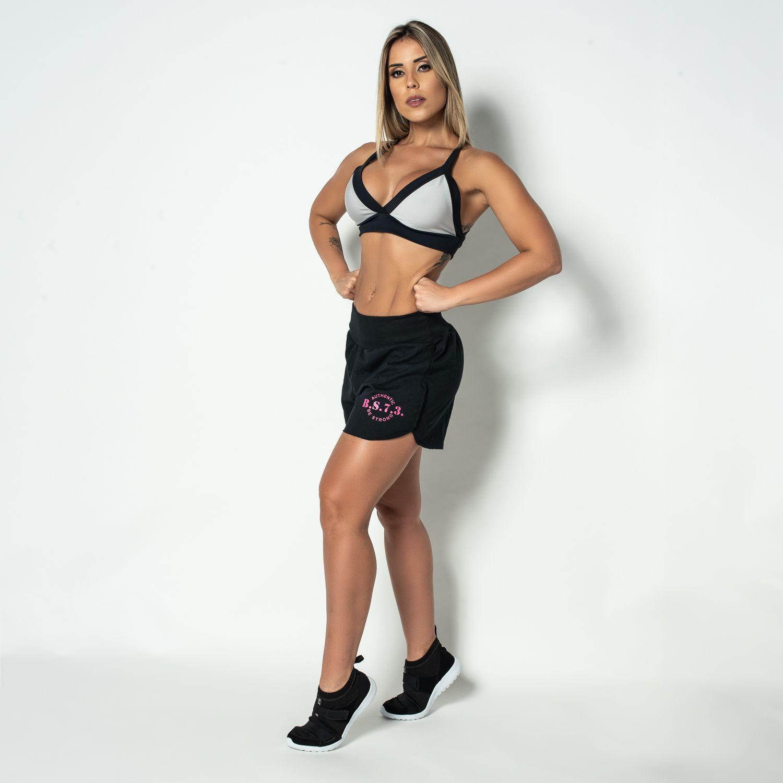 Short Fitness Moletinho Cós Ribana