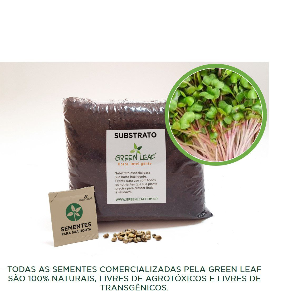 KIT - RABANETE INDRA (MICROVERDES)