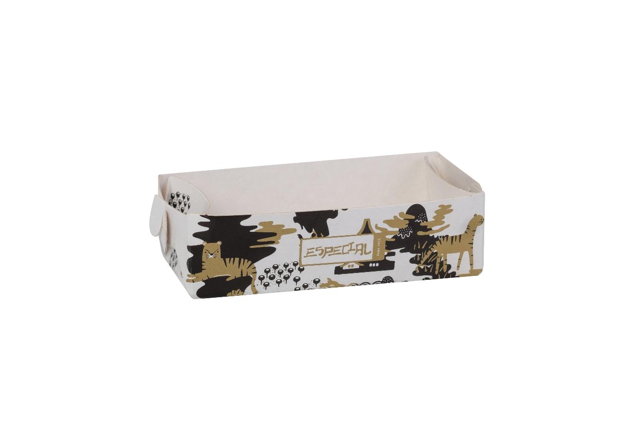 Bandeja para shoyu dourada - Especial para você - 100 unidades