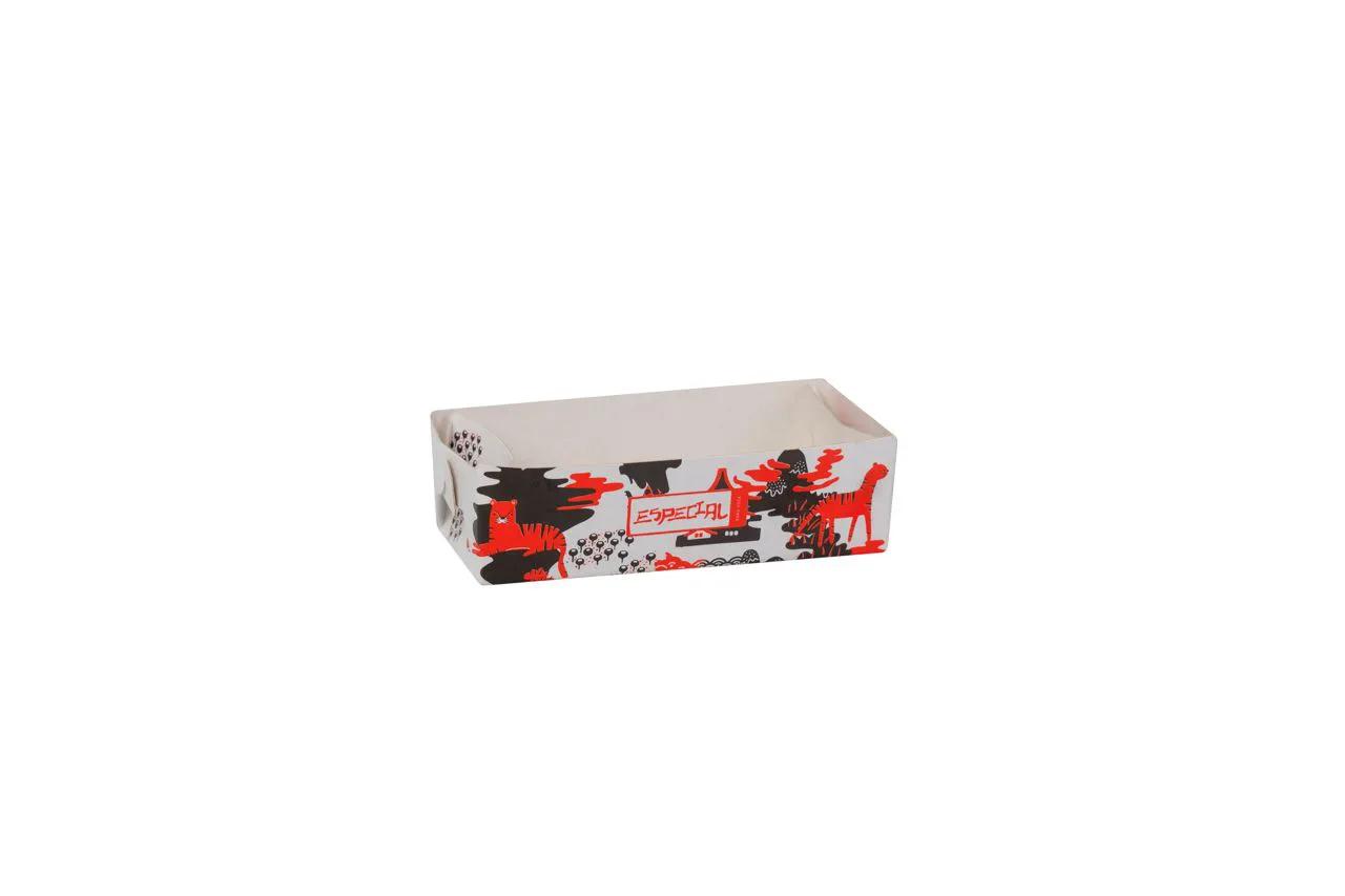 Bandeja para shoyu vermelha - Especial para você - 100 unidades