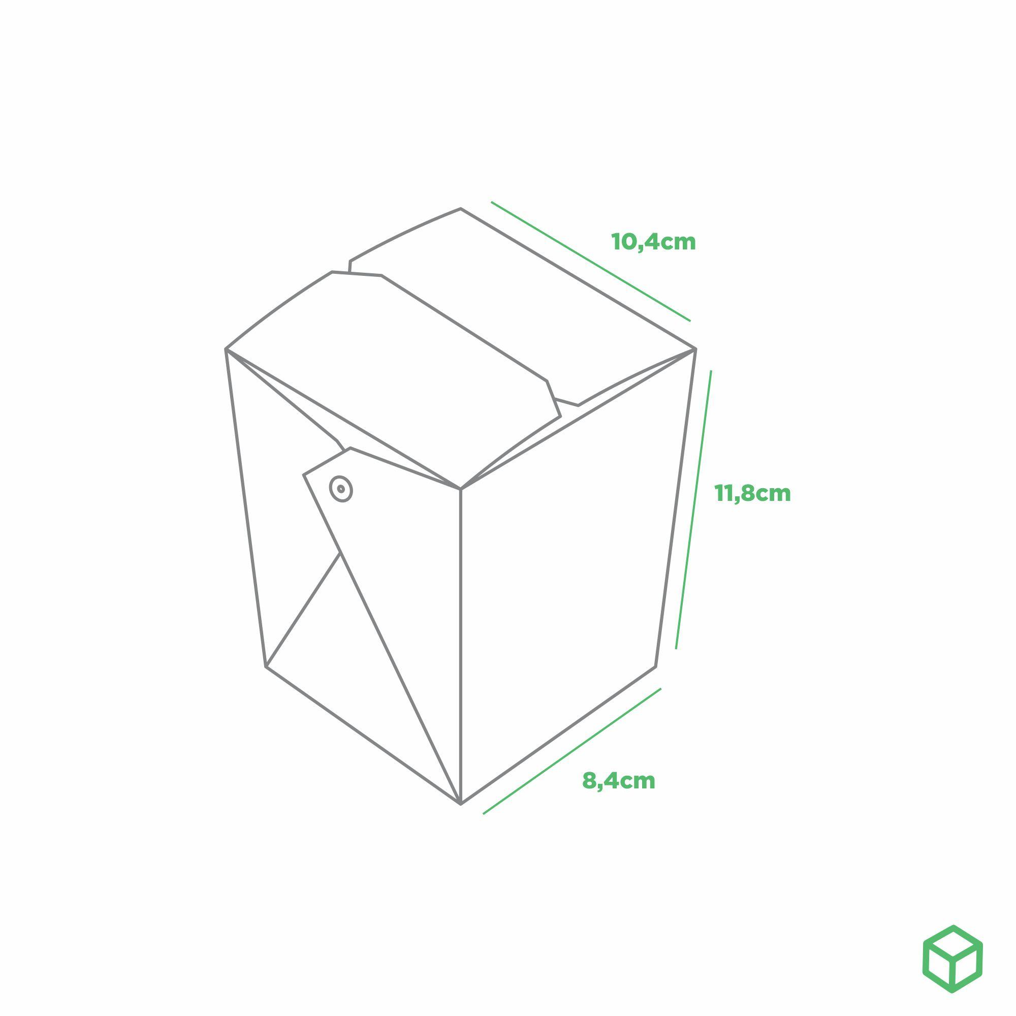 EMBALAGEM CAIXA BOX POSIBOX GRANDE COM PRESILHA ORIENTAL - DOURADO - RECEITA ESPECIAL - 100 UN