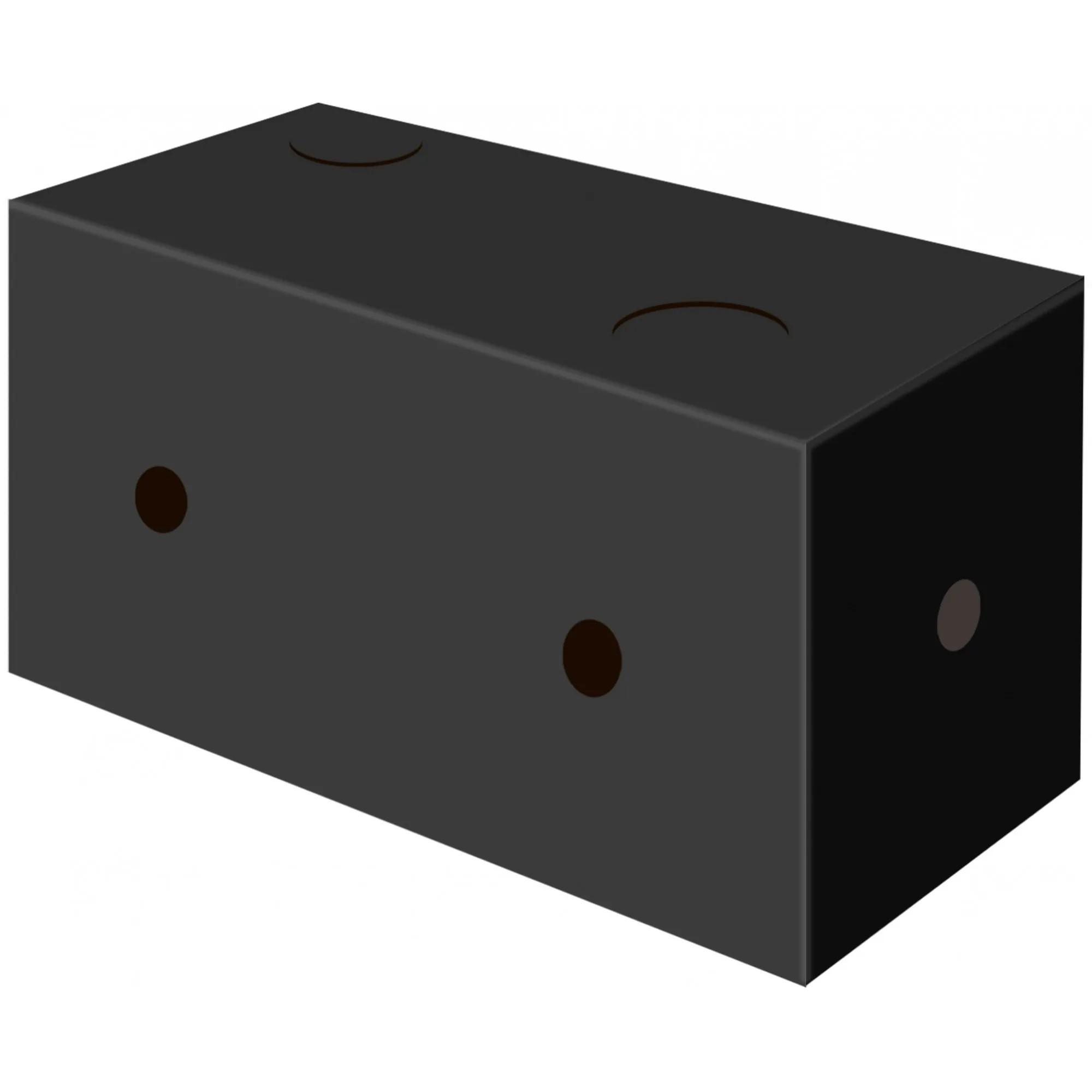 Embalagem caixa para batata frita - Linha Black - 100 unidades