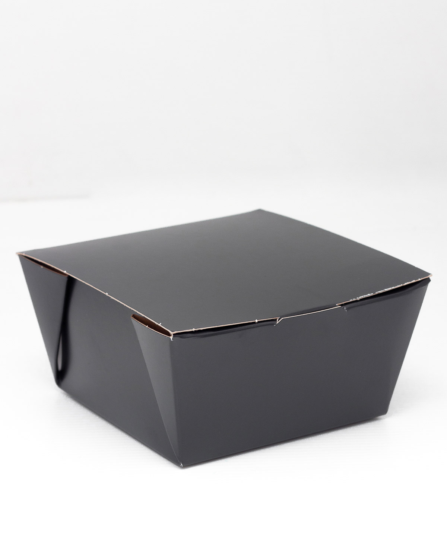 EMBALAGEM DELIVERY ANTI VAZAMENTO 12x12 - ENCAIXADA E COLADA - LINHA BLACK - 100 UNIDADES