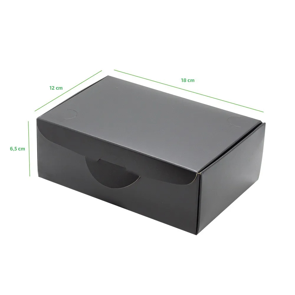 EMBALAGEM DELIVERY ANTI VAZAMENTO BLACK 18X12 - 100 UN