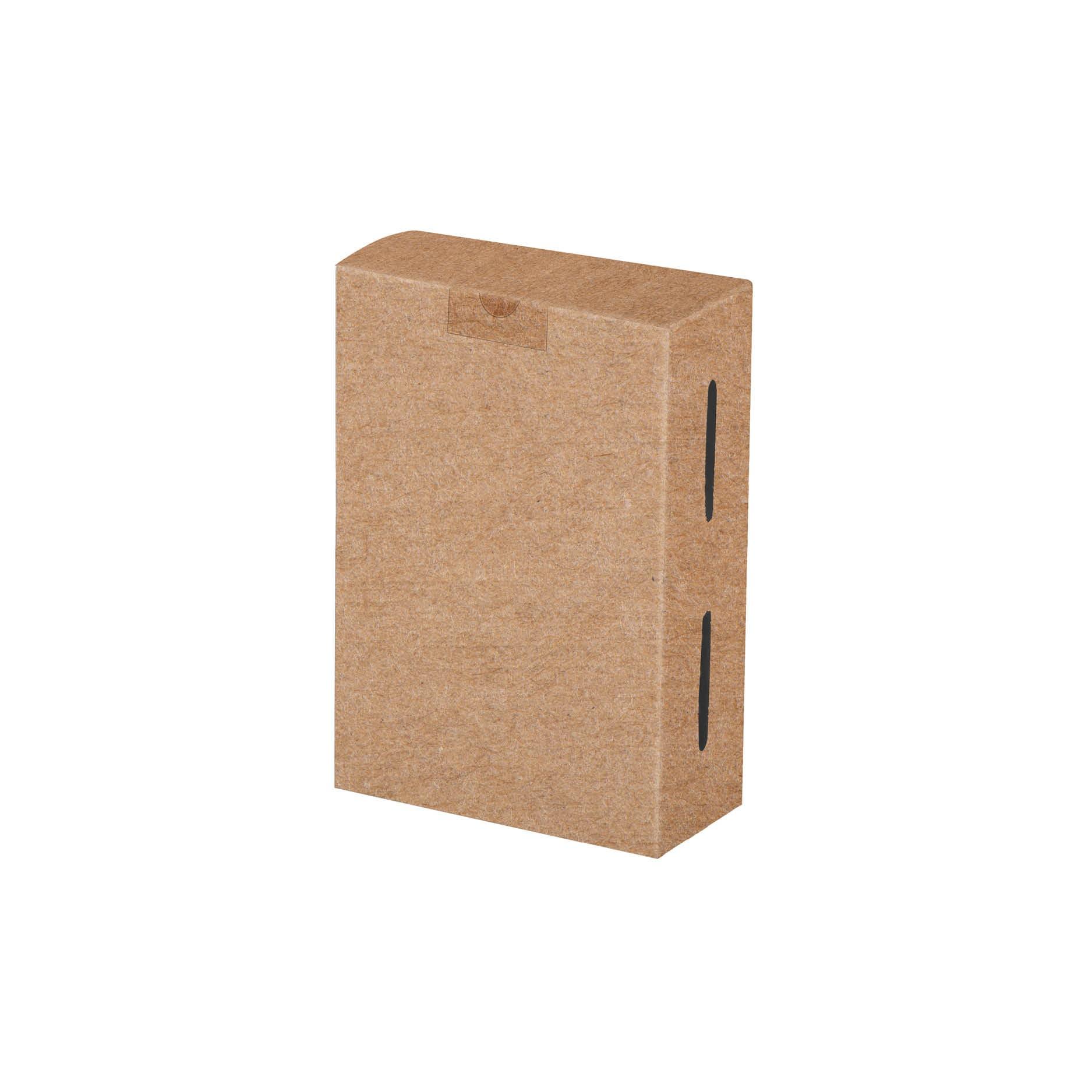 Embalagem para porções em papel kraft - 50 unidades