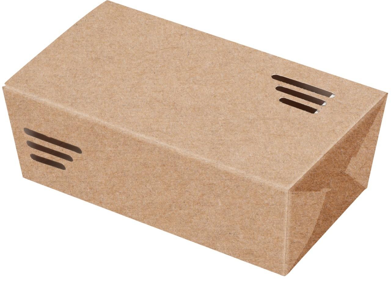 BOX FRITURA GRANDE - LINHA KRAFT - 100 UNIDADES