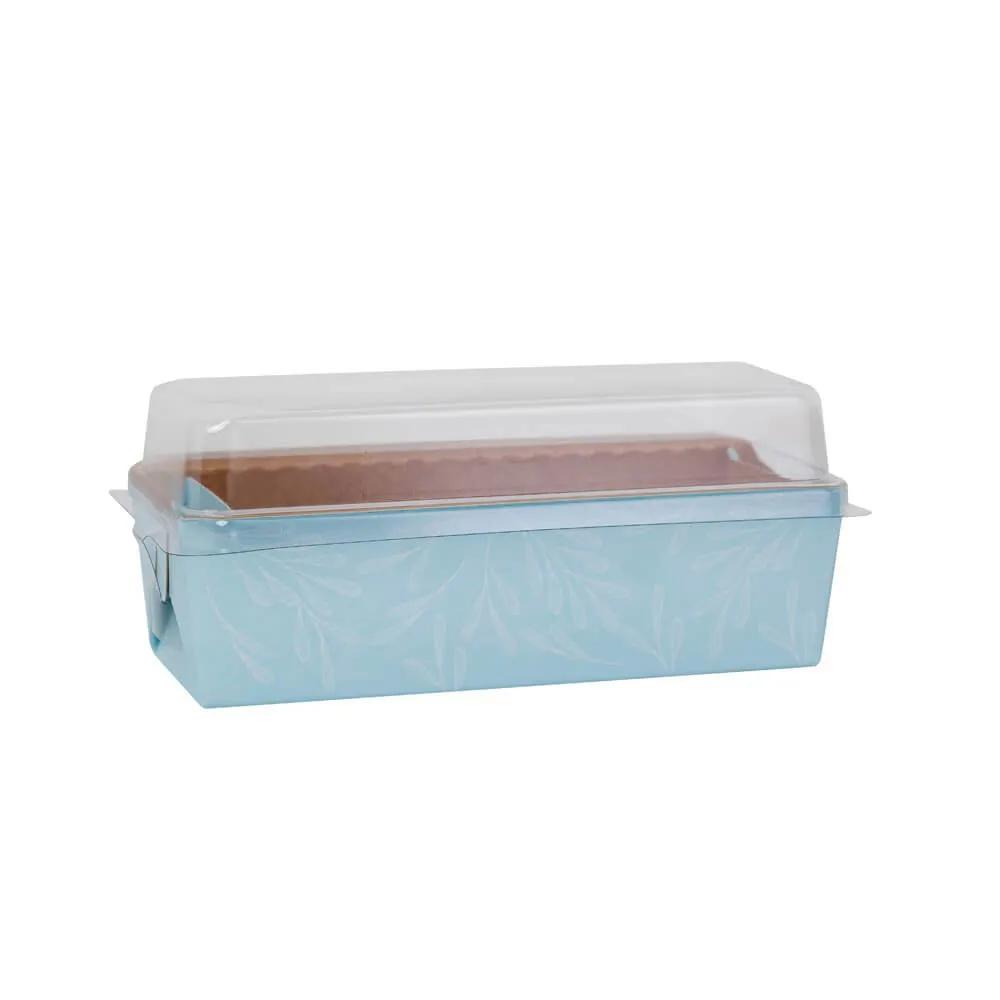 Forma forneável com tampa - Pacote com 100 unidades