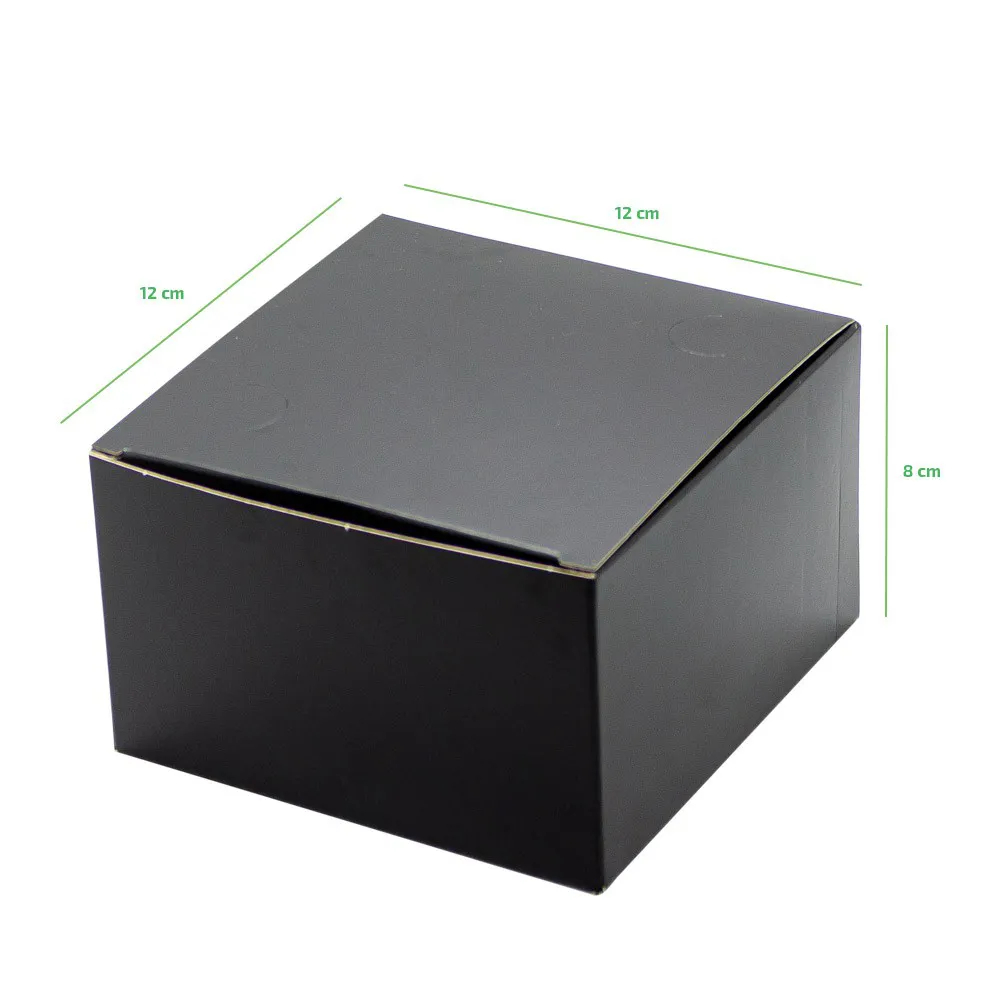 Caixa forneável para hambúrguer - Linha black - 100 unidades