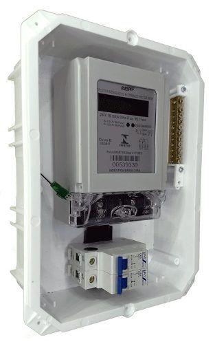 bf656442715 Kit Caixa Para Medidor Nansen De Embutir C  Dijuntor 63a ▻CAIXAS ...