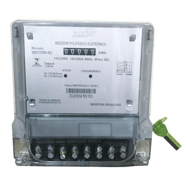 Manual do medidor de energia nansen