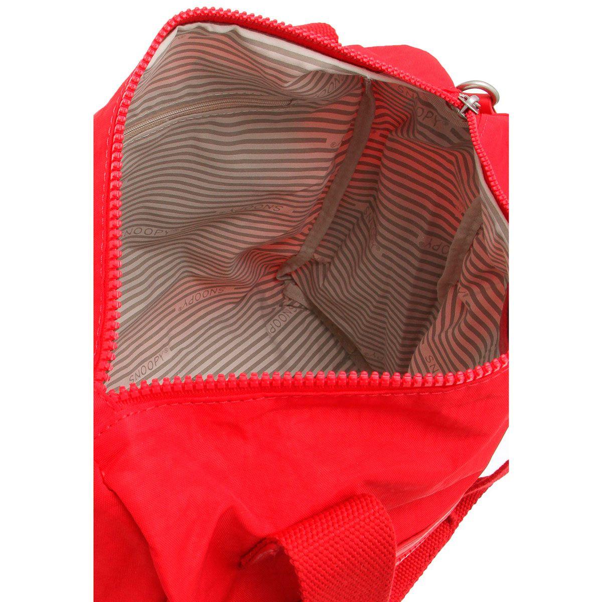 ffe8d015c BOLSA DE OMBRO SNOOPY BE SPORT - SP3803 - Classe Bag