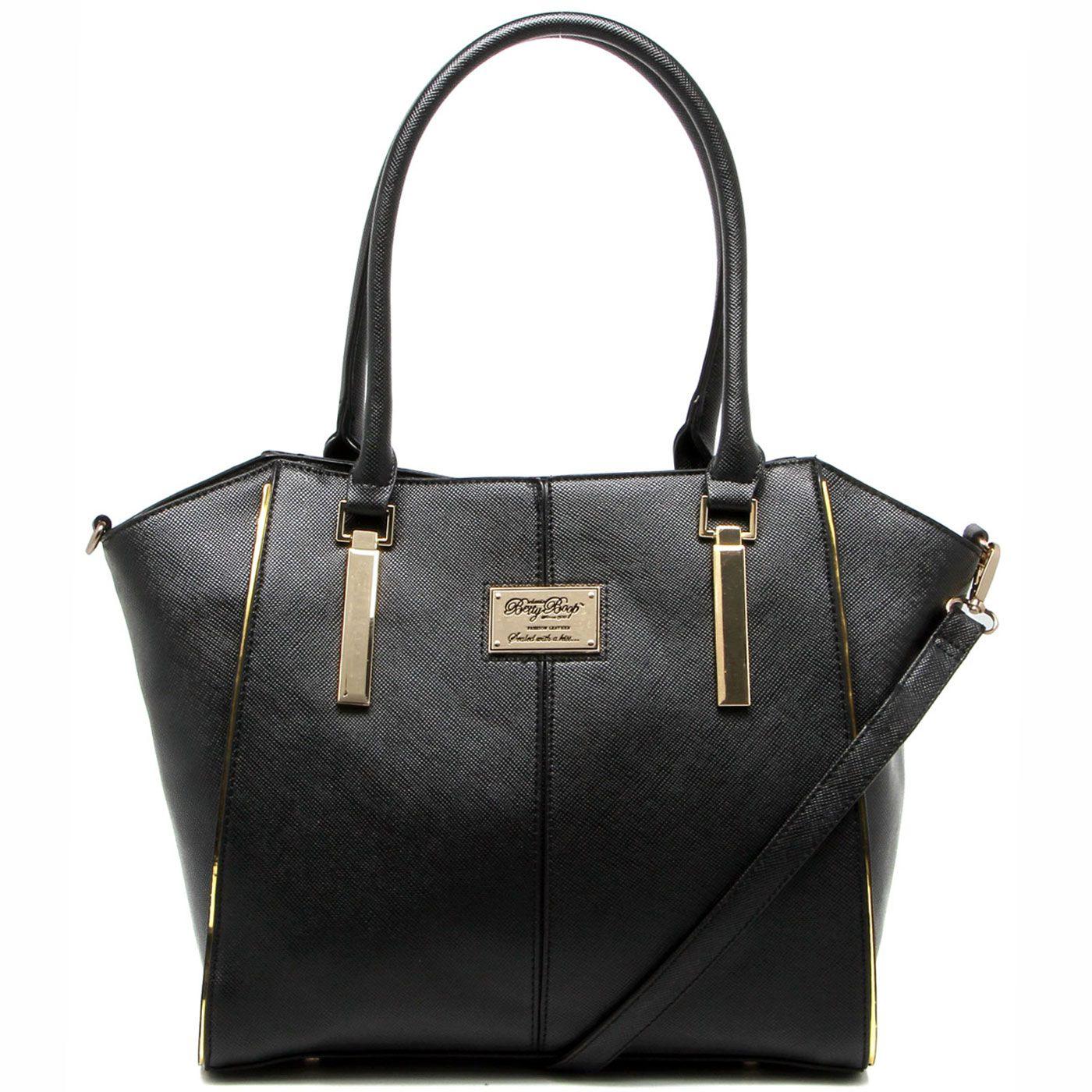 affecbf31 BOLSA ESTRUTURADA LOGO BP6802 - BETTY BOOP - Classe Bag