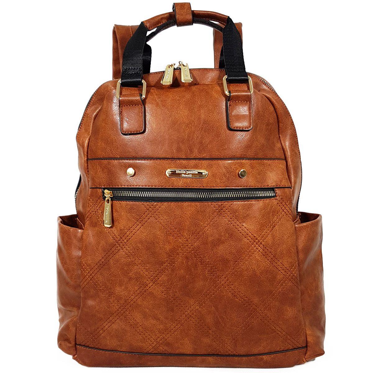 b4622ac57f BOLSA MOCHILA MODERNA BELLA PAULA - BP-7381 - Classe Bag
