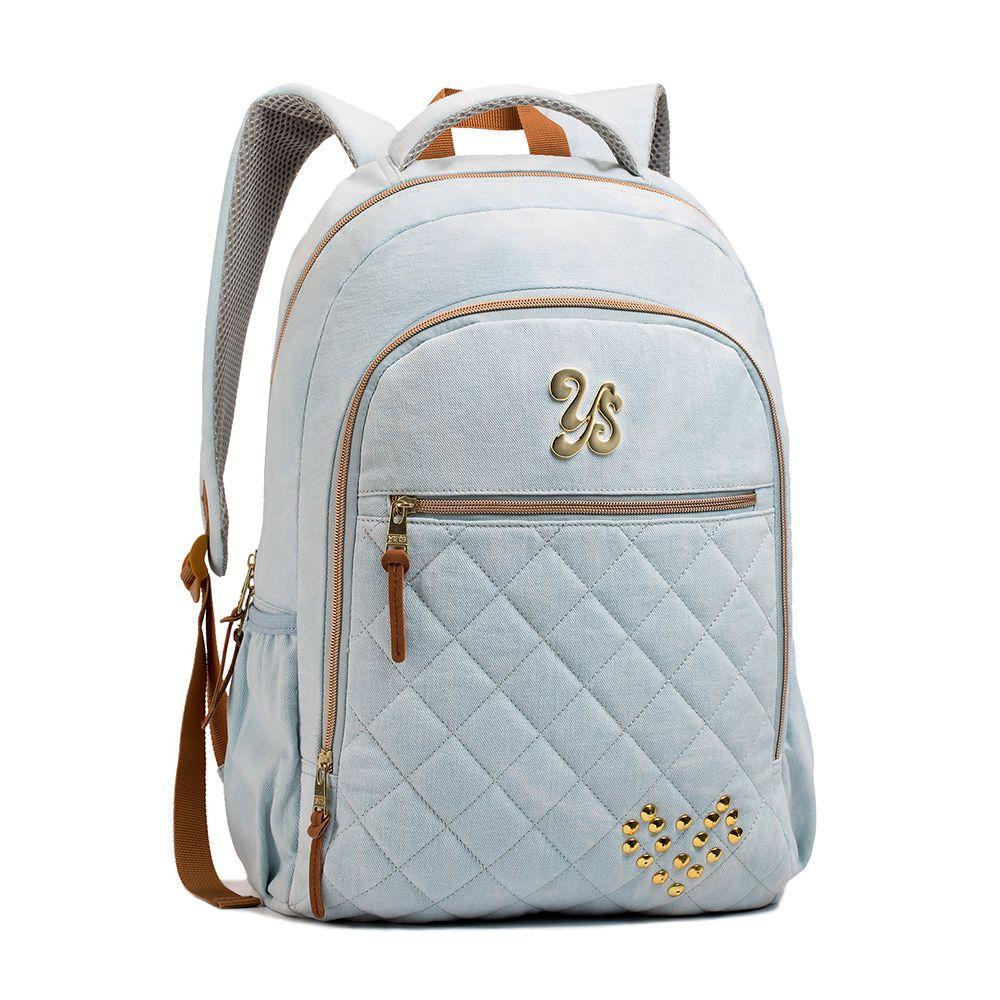 970e8a8a5 MOCHILA JEANS FEMININA YS SEANITE - MJ14024 - Classe Bag