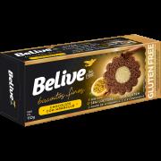 Belive - Biscoito Fino Sabor Chocolate com Maracujá 110g