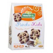 Biscoito Amanteigado Panda Kids Baunilha e Cacau