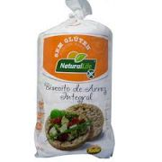 Biscoito de Arroz Integral - Natural Life (80g.)