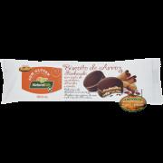 Biscoito de Arroz Recheado com Pasta de Amendoim Alfarroba e Canela - Natural Life 40g.