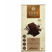 Choc - Chocolates Finos 70% Cacau 80g