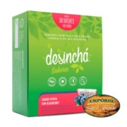 Desinchá Sabores - Pitaya com Blueberry 30 Sachês