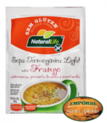 Natural Life - Sopa Termogênica Light sabor Frango 20g
