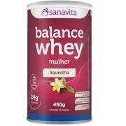 Sanavita - Balance Whey Mulher Baunilha 450g