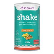 Sanavita - Shake sabor Frutas Tropicais 450g