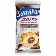 Suavipan - Bolinho de Baunilha Recheio Chocolate Zero Adição de Açúcar 40g