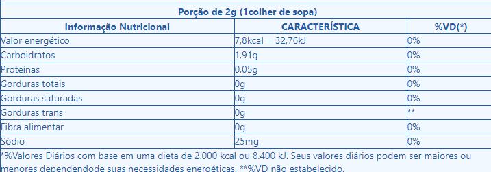 Adoçante Dietético em Pó 66g