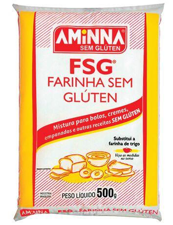 Aminna - Farinha sem Glúten 500g