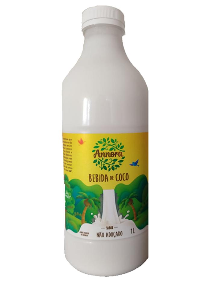 Annora - Bebida de Coco Não Adoçado  1L