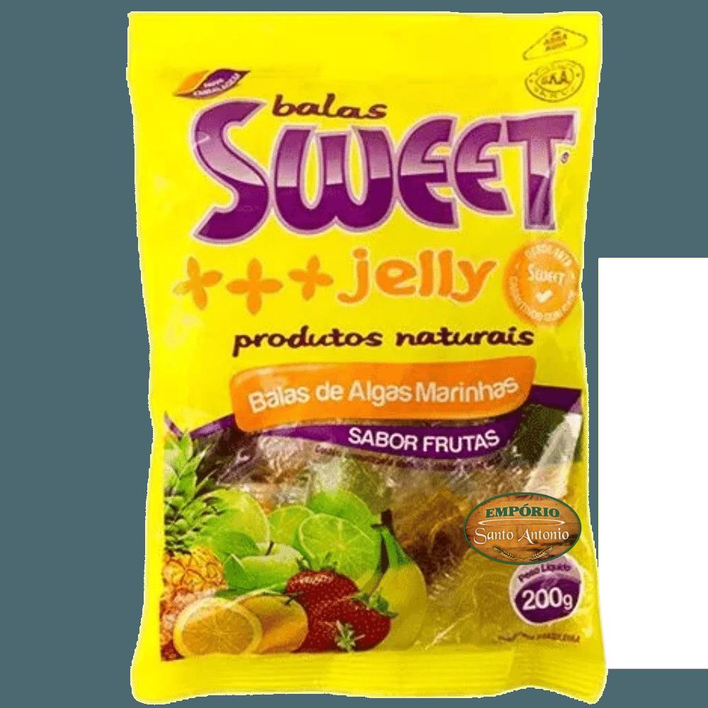 Balas de Algas Marinhas - Sabor Frutas 200g