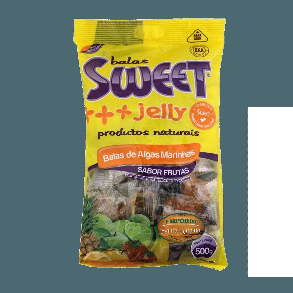 Balas de Algas Marinhas - Sabor Frutas 500g