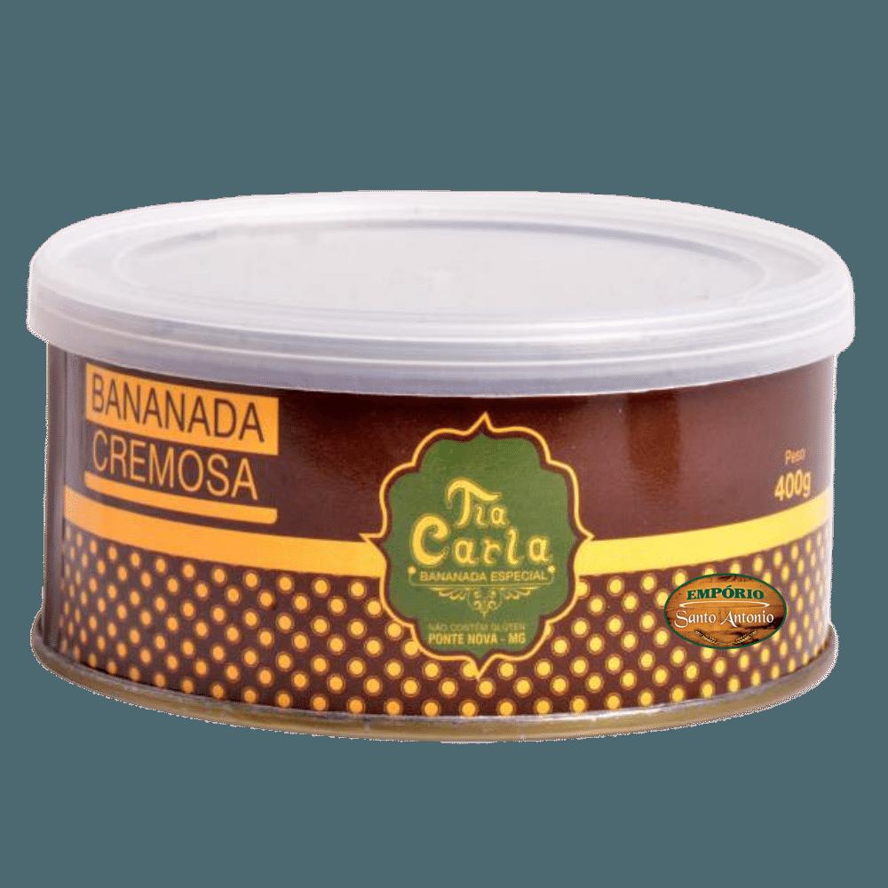 Bananada Cremosa Diet Tia Carla - Lata 400g