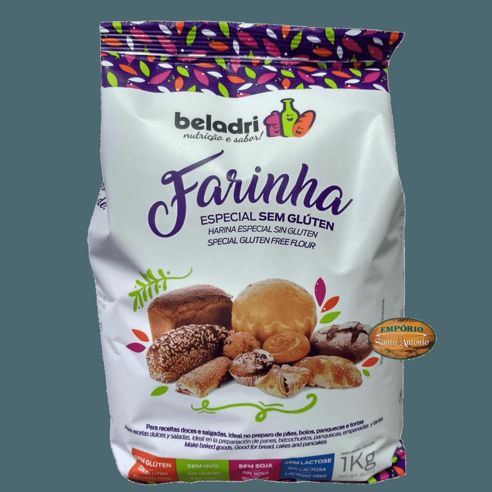 Beladri - Farinha Especial Sem Glúten 1kg