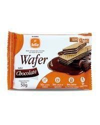 Belfar - Wafer recheado sabor Chocolate 50g