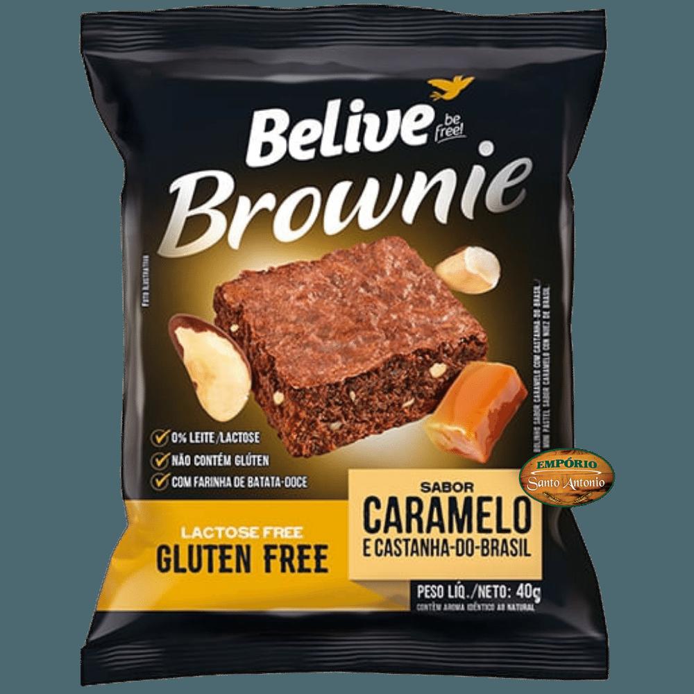Belive - Brownie Caramelo e Castanha-do-Brasil 40g