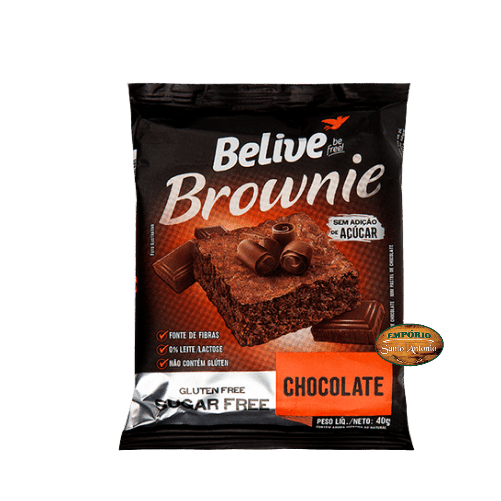 Belive - Brownie Chocolate 40g